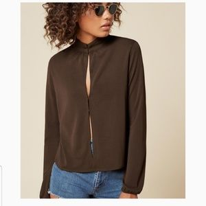 Reformation Rivington Cathay Top